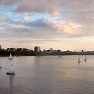 Panorama of the bay by CJ Fuchs