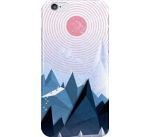 Crystal Ice Mountains iPhone Case/Skin