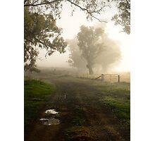 Misty laneway ... Photographic Print