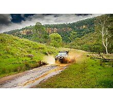 4x4 mudspray Photographic Print