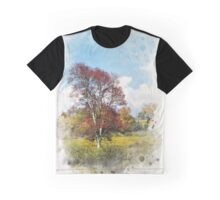Fall Colors Watercolor Graphic T-Shirt
