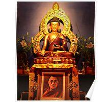 Hi Holiness Dalai Lama's birthday Poster