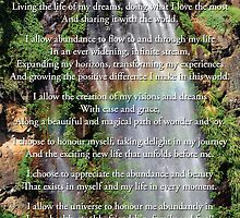 Prayer of Abundance by Lisa Frost