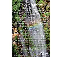 Prayer of Abundance Photographic Print