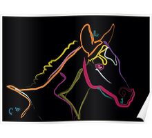 Pillow color foal , filly Poster