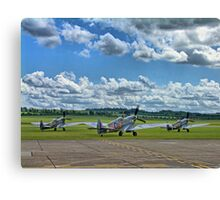 Three Flying Legends ! Canvas Print