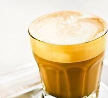 cafe latte by vannphotography