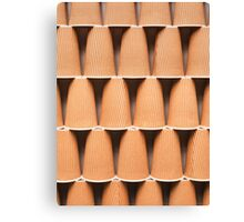 stacked coffee cups Canvas Print