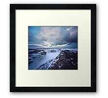 The Clouds Above Framed Print