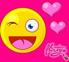 Flirty Emoji  by flirtygirlbrand