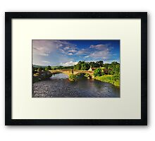 Bolton Bridge. Framed Print