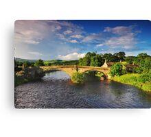 Bolton Bridge. Canvas Print