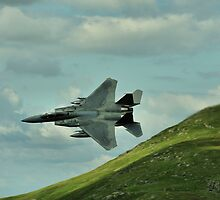American F-15E or C Strike Eagle by Simon Pattinson