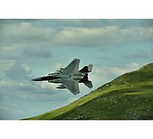 American F-15E or C Strike Eagle Photographic Print