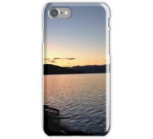 Lakeshore sunset iPhone Case/Skin