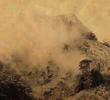 Sri Lankan Misty Peaks. Chinese Painting Style by JennyRainbow