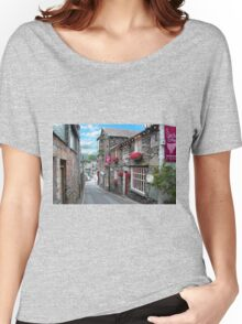 Slate Houses in the Lake District - Reworked Women's Relaxed Fit T-Shirt