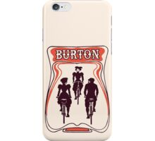 Retro art nouveau style Belgian beer ad iPhone Case/Skin
