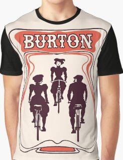 Retro art nouveau style Belgian beer ad Graphic T-Shirt