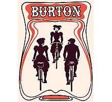 Retro art nouveau style Belgian beer ad Photographic Print