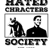 Hated Characters Society by papistwhovian