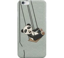 Panda breakes free iPhone Case/Skin