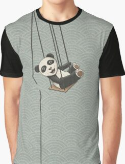 Panda breakes free Graphic T-Shirt