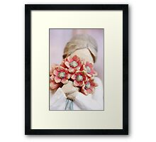 Love Flowers Close up Framed Print