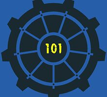 Fallout 3 Vault 101 Image | Design/Logo by BOSTrinity