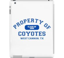 Property of West Canaan Coyotes iPad Case/Skin