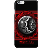 Gothic Metal Marble iPhone Case/Skin