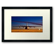 RAF C130 (Hercules) Framed Print