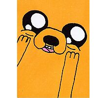 Adventure Time Jake The Dog Cute Photographic Print