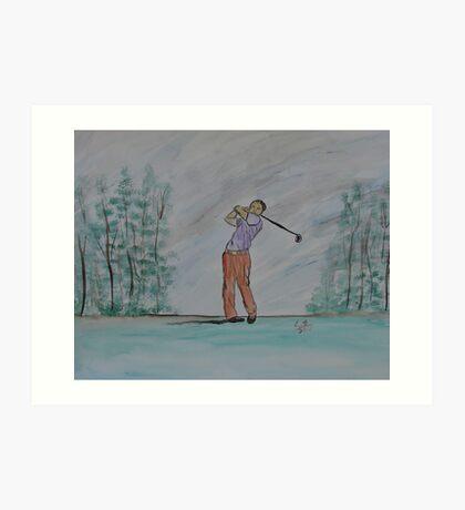 """Sigh""  by Carter L. Shepard Art Print"
