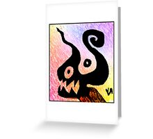 """""""Shadow Fiend (Cooked)"""" by Richard F. Yates Greeting Card"""