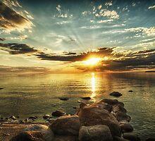 Sunset Beach by Bendinglife