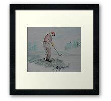 """The Slice""  by Carter L. Shepard Framed Print"