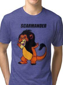 Scarmander Tri-blend T-Shirt