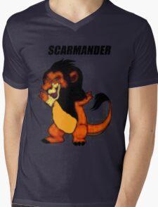 Scarmander Mens V-Neck T-Shirt