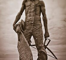 The Ancient Mariner (with Albatross) by SwampDogPhoto