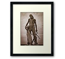 The Ancient Mariner (with Albatross) Framed Print