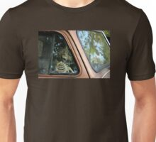 Skeleton Behind The Wheel Of Chevy Truck Unisex T-Shirt