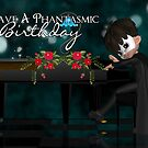 Phantom Of The Opera Birthday Greeting Card by Moonlake