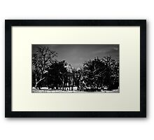 The Hidden Church Framed Print