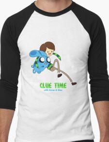 Clue Time with Steve & Blue Men's Baseball ¾ T-Shirt
