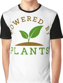 Powered by plants Graphic T-Shirt