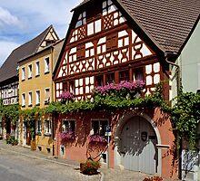 Prichsenstadt, Franconia, Germany. by David A. L. Davies