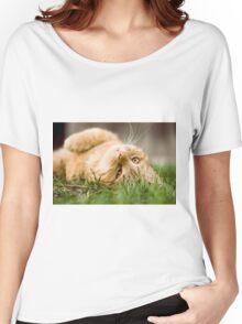Cute cat Women's Relaxed Fit T-Shirt