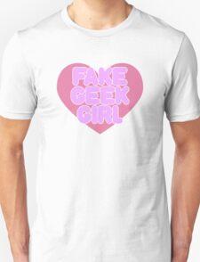 Fake Geek Girl Unisex T-Shirt
