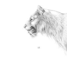 Smilodon fatalis by A V S TURNER